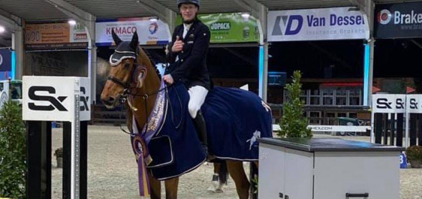 Tim Rieskamp-Goedeking gewinnt Weltranglisten-Springen in Lier