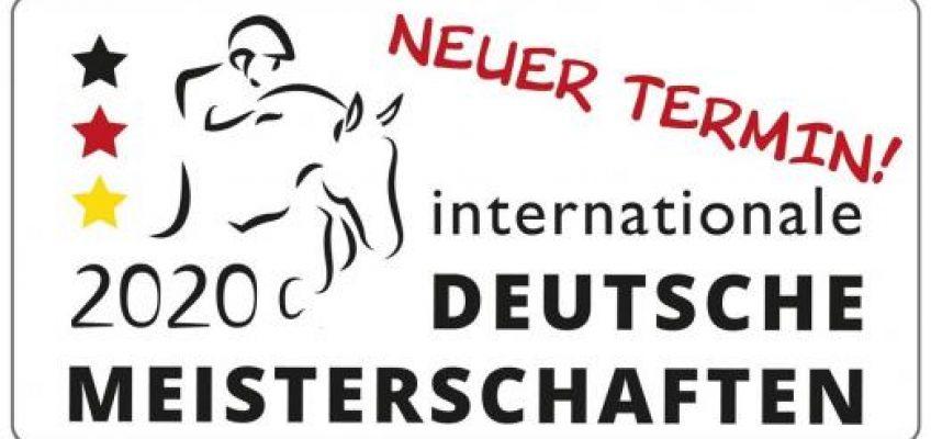 Deutsche Meisterschaften der Springreiter in den Dezember verschoben