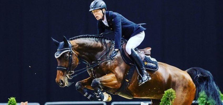 Tim Rieskamp und Cedric Wolf im Stechen um Grand Prix von Opglabbeek