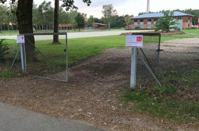 Montagsclub baut einen 2. Springplatz in Luhmühlen