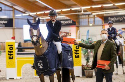 Katharina von Essen und C-Loona siegen zum Auftakt in Riesenbeck!