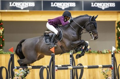 Mathilda Karlsson und Casall-Sohn gewinnen Hauptspringen in Riesenbeck!