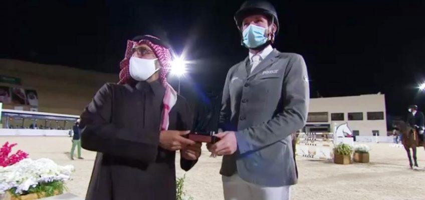 Meister Weishaupt auch bester Deutscher im World Cup Qualifier in Riad