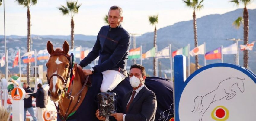 Julien Epaillard vor David Will im GP Qualifier von Oliva Nova