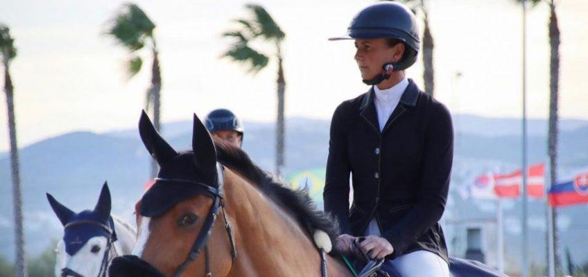 Penelope Leprevost vor David Will im kleinen Grand Prix von Oliva