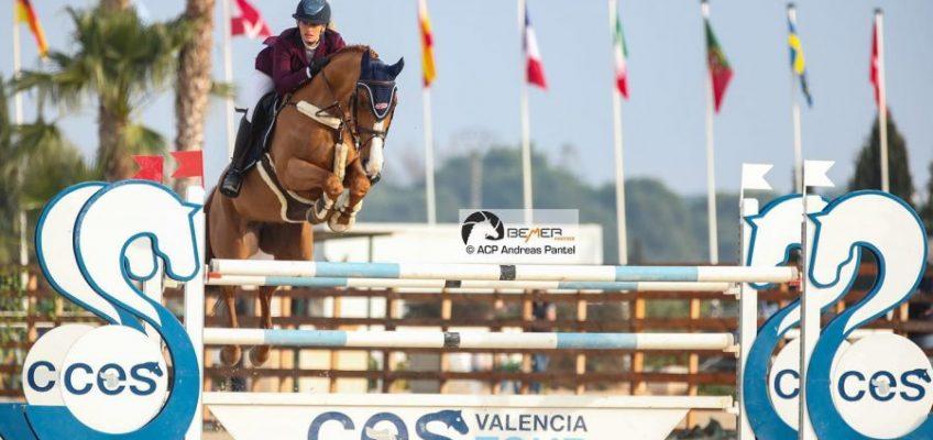 Alexa Stais gewinnt mit DSP-Stute aus Brandenburg in Valencia