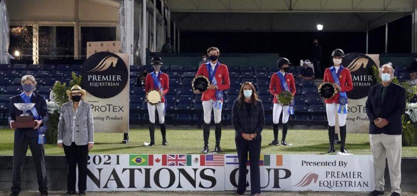 Heimsieg für die USA im mit 150.000 Dollar dotierten Nationenpreis in Wellington