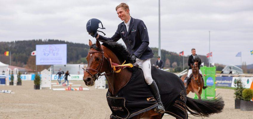 Deutschlands U25 Springpokal: Hannes Ahlmann gewinnt in Hagen