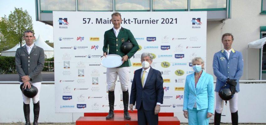 Peder Fredricson siegt im Maimarkt-Championat – Christian Ahlmann wird Dritter!