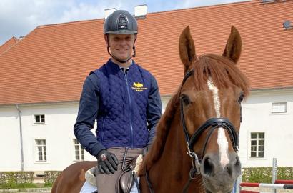 Felix Ewald zurück im Brandenburgischen Haupt- und Landgestüt Neustadt (Dosse)