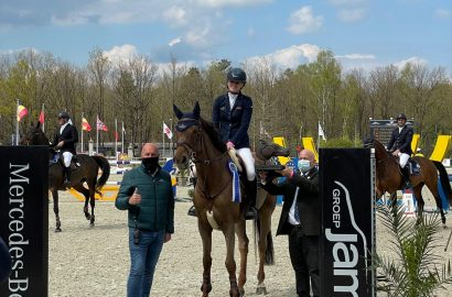 Juniorin Johanna Beckmann gewinnt Samstags-Hauptspringen in Opglabbeek