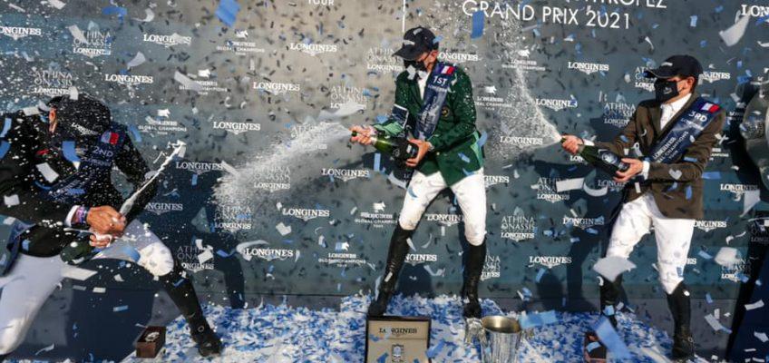 Peder Fredricson siegt im Longines Global Champions Tour Grand Prix von St. Tropez – Ahlmann wird Siebter!