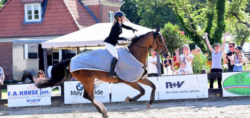 Janne Friederike Meyer-Zimmermann gewinnt in Breitenburg