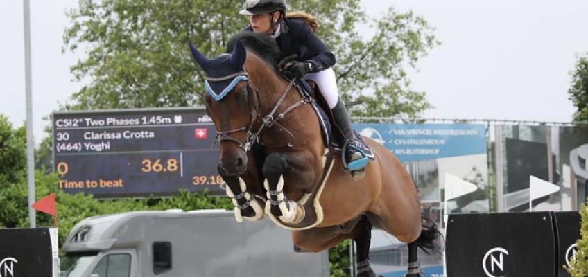 Clarissa Crotta und Toni Haßmann trotz Wolkenbruch erfolgreich beim Bonheiden GP