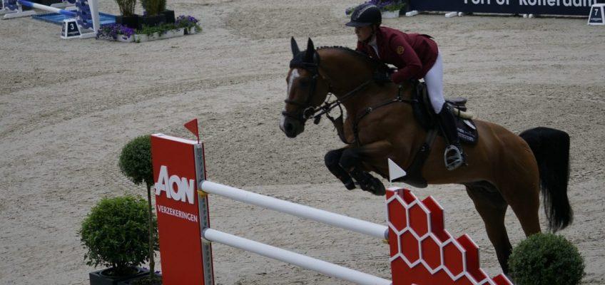 Kim Emmen und Peder Fredricson sind die ersten Sieger in Rotterdam