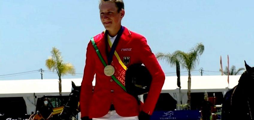 Matthis Westendarp ist Europameister der Jungen Reiter!