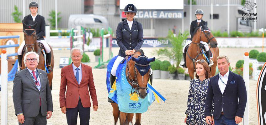Jana Wargers siegt im Grand Prix von Budapest, Sophie Hinners Dritte, Cedric Wolf Vierter!