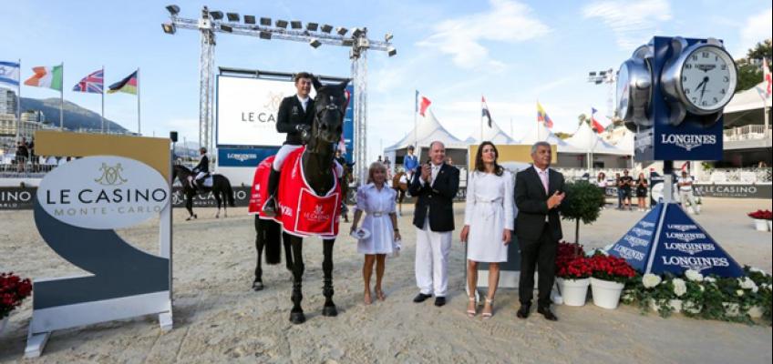 James Wilson siegt in Monaco, Laura Klaphake Vierte im Stechen!
