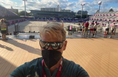 Olympia-Countdown: Gruß von André Thieme aus Tokio, bevor es ernst wird