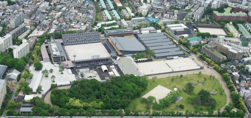 Es ist in Tokio alles vorbereitet für die Olympischen Spiele