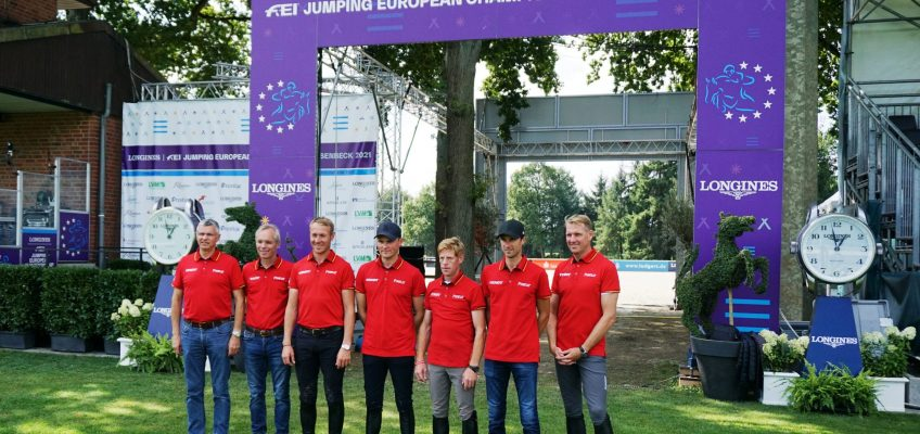 EM in Riesenbeck: Heute um 11 Uhr geht es für Team Germany ins erste Zeitspringen!