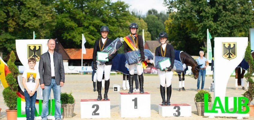 Nadine Legros gewinnt Gold bei Deutscher Amateur Meisterschaft