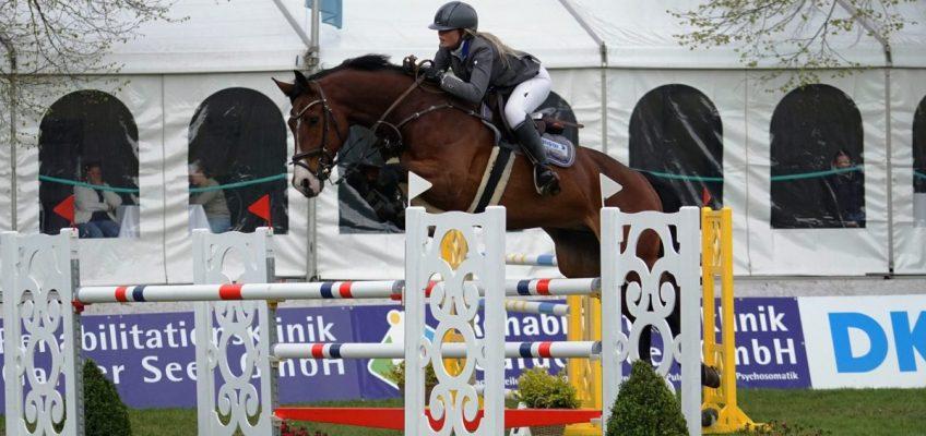 Christin Wascher lässt Europameister Thieme hinter sich