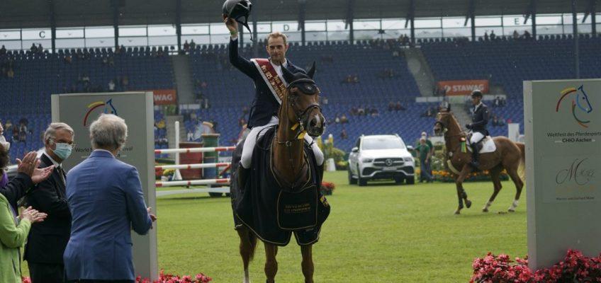 Richard Vogel gewinnt in Aachen zum dritten Mal U25-Springpokal