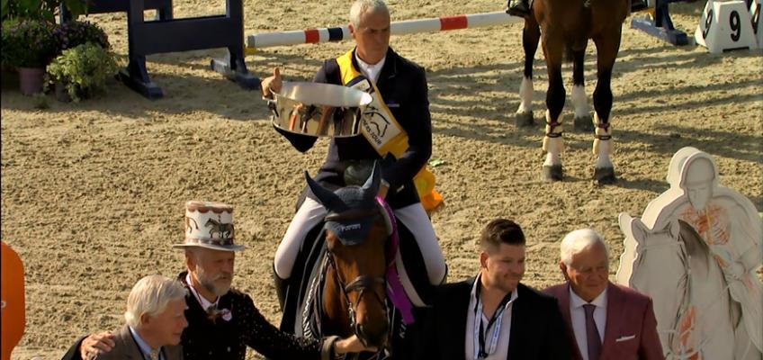 Dominique Hendrickx vor Janne Meyer-Zimmermann und Felix Haßmann im Großen Preis der Bemer AG in Hagen