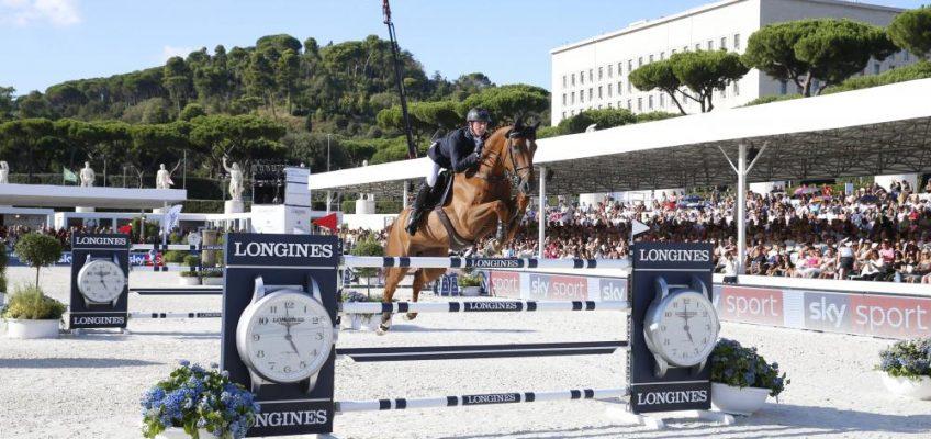 Longines Global Champions Tour geht in Rom auf die Zielgerade